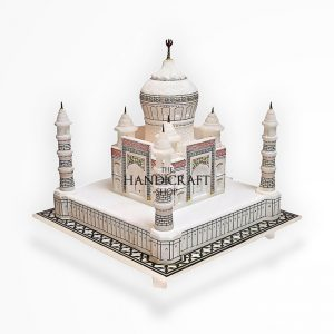 Marble Taj Mahal White - The Handicraft Shop