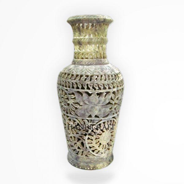 White Marble Flower Vase - The Handicraft Shop