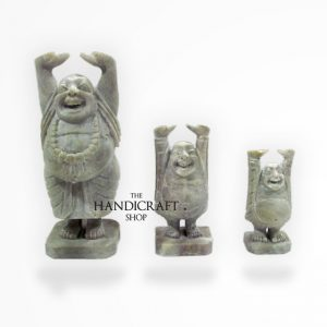 Marble Laughing Buddha - The Handicraft Shop
