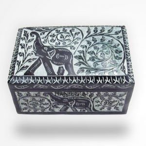 Black Marble Jewelry Box - The Handicraft Shop