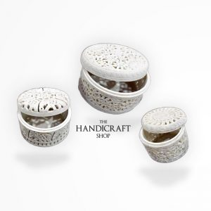 White Marble Gift Box - The Handicraft Shop