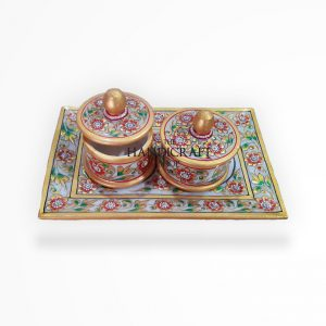 Marble Mouth Freshener Box - The Handicraft Shop