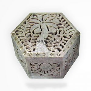 Marble Jewelry Box - The Handicraft Shop