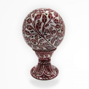 Marble Red Showpiece - The Handicraft Shop